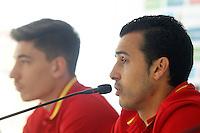SPAIN FOOTBALL TEAM PREPARING EURO 2016.