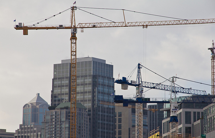Seattle, South Lake Union, tech construction, new construction, Washington State, United States,