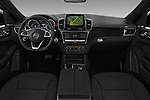 Stock photo of straight dashboard view of 2017 Mercedes Benz GLE-Class-Coupe GLE43-AMG 5 Door SUV Dashboard