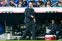 Real Madrid's coach Zinedine Zidane during La Liga match.December 09,2017. (ALTERPHOTOS/Acero)<br /> Liga Campionato Spagna 2017/2018<br /> Foto Alterphotos / Insidefoto <br /> ITALY ONLY