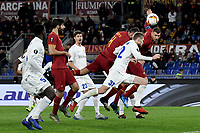 Edin Dzeko of Roma<br /> Roma 20-02-2020 Stadio Olimpico <br /> Football Europa League 2019/2020 Round of 32 first leg <br /> AS Roma -  Kaa Gent<br /> Photo Andrea Staccioli / Insidefoto
