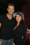 "Days' Eric Martsolf poses with General Hospital's Jackie Zeman wearing Hats for Health as Daytime's TV and Broadway stars get involved in helping launch Jane Elissa's ""Hats For Health"" to promote awareness and to raise money for Leukemia/Lymphoma cancer research and patient aid. The Hats For Health will be available through Jane Elissa at 917-325-1085 and through the new website ""Hats For Health"". Jackie Zeman was at the 8th Annual Connecticut Women's Expo presented by Comcast on September 11 & 12, 2010, Hartford, Connecticut.  (Photo by Sue Coflin/Max Photos)"