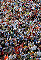 La partenza della Maratona di Roma, 22 marzo 2009..A view of the Rome's Marathon, 22 march 2009, during the start..UPDATE IMAGES PRESS/Riccardo De Luca