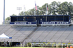 30 August 2013: Koskinen Stadium. The Elon University Phoenix played the Northeastern University Huskies at Koskinen Stadium in Durham, NC in a 2013 NCAA Division I Men's Soccer match. The game ended in a 1-1 tie after two overtimes.