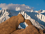 Lone Pine Peak, Alabama Hills, Sierra Nevada Mountains, California