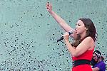 02.06.2012. Chenoa performs during in the ´Cadena 100´ 20 th anniversary Concert at the stadium Vicente Calderon in Madrid. In the image: Chenoa  (Alterphotos/Marta Gonzalez)