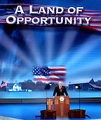 New York, NY - September 1, 2004 --  United States Vice President Dick Cheney accepts his party's nomination for a second term as Vice President at the 2004 Republican Convention in Madison Square Garden in New York on Wednesday, September 1, 2004..Credit: Ron Sachs / CNP.(RESTRICTION: No New York Metro or other Newspapers within a 75 mile radius of New York City)