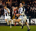 23/01/2005  Copyright Pic : James Stewart.File Name : jspa08_st mirren v airdrie.STUART KEAN CELEBRATES AFTER HE SCORES ST MIRREN'S WINNER....Payments to :.James Stewart Photo Agency 19 Carronlea Drive, Falkirk. FK2 8DN      Vat Reg No. 607 6932 25.Office     : +44 (0)1324 570906     .Mobile   : +44 (0)7721 416997.Fax         : +44 (0)1324 570906.E-mail  :  jim@jspa.co.uk.If you require further information then contact Jim Stewart on any of the numbers above.........A