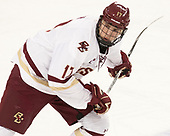David Cotton (BC - 17) - The visiting Merrimack College Warriors defeated the Boston College Eagles 6 - 3 (EN) on Friday, February 10, 2017, at Kelley Rink in Conte Forum in Chestnut Hill, Massachusetts.