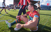Picture by Allan McKenzie/SWpix.com - 09/09/2017 - Rugby League - Betfred Super League - Hull KR v Widnes Vikings - KC Lightstream Stadium, Hull, England - Hull KR's Shaun Lunt reacts with joy after his side regained their Super League place.