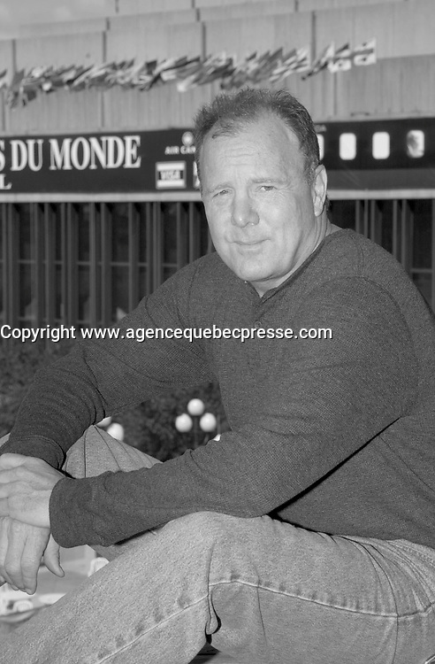Sept 3,  2003, Montreal, Quebec, Canada<br /> <br /> Jack Forbes, actor in THE GUN, pose for an exclusive photo September 3 2003, in Montreal, CANADA.<br /> <br /> Mandatory Credit: Photo by Pierre Roussel- Images Distribution. (&copy;) Copyright 2003 by Pierre Roussel <br /> <br /> All our photos are on www.photoreflect.com<br /> filed by date and or by movie title