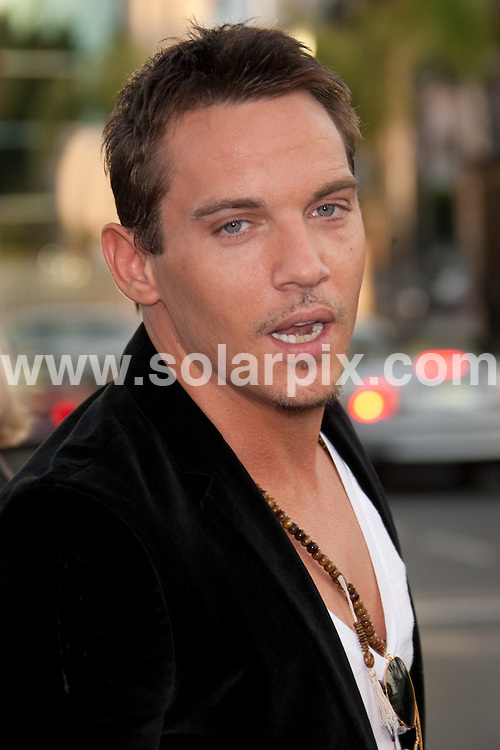 "**ALL ROUND PICTURES FROM SOLARPIX.COM**.**SYNDICATION RIGHTS FOR UK, AUSTRALIA, DENMARK, PORTUGAL, S. AFRICA, SPAIN & DUBAI (U.A.E) ONLY**.arrivals for ""The Soloist"" Los Angeles Premiere. Held at Paramount Theatr, Hollywood, USA. April 20, 2009..This pic: Jonathan Rhys Meyers..JOB REF: 8849 PHZ (Hatcher) DATE: 20_04_2009.**MUST CREDIT SOLARPIX.COM OR DOUBLE FEE WILL BE CHARGED**.**ONLINE USAGE FEE GBP 50.00 PER PICTURE - NOTIFICATION OF USAGE TO PHOTO @ SOLARPIX.COM**.**CALL SOLARPIX : +34 952 811 768 or LOW RATE FROM UK 0844 617 7637**"