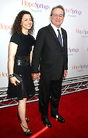NEW YORK, NY - AUGUST 6, 2012: Tommy Lee Jones and Dawn Jones at the 'Hope Springs' premiere at the SVA Theater on August 6, 2012 in New York City. &copy;&nbsp;RW/MediaPunch Inc. /NortePhoto.com<br />