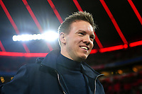 Julian NAGELSMANN Trainer L, lacht,lachen,lachend,optimistisch, gutgelaunt, Einzelbild,angeschnittenes Einzelmotiv,Portraet,Portrait,Portr‰t. Fussball 1. Bundesliga,21.Spieltag,Spieltag21, FC Bayern Muenchen M -RB Leipzig L 0-0, am 09.02.2020 in Muenchen A L L I A N Z A R E N A, DFL REGULATIONS PROHIBIT ANY USE OF PHOTOGRAPHS AS IMAGE SEQUENCES AND/OR QUASI-VIDEO. *** Julian NAGELSMANN Coach L , laughing,laughing,laughing,optimistic, good-humoured, single picture,cut single motif,portrait,portrait,portrait football 1 Bundesliga,21 matchday,Matchday21, FC Bayern Munich M RB Leipzig L 0 0, on 09 02 2020 in Munich A L L I A N Z A R E N A, DFL REGULATIONS PROHIBIT ANY USE OF PHOTOGRAPHS AS IMAGE SEQUENCES AND OR QUASI VIDEO<br /> Bundesliga<br /> Foto Imago/Insidefoto <br /> ITALY ONLY