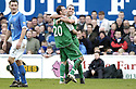 24/02/2007       Copyright Pic: James Stewart.File Name : sct_jspa02_qots_v_hibernian.DAVID MURPHY CELEBRATES WITH STEVEN FLETCHER AFTER HE SCORES HIBS FIRST....James Stewart Photo Agency 19 Carronlea Drive, Falkirk. FK2 8DN      Vat Reg No. 607 6932 25.Office     : +44 (0)1324 570906     .Mobile   : +44 (0)7721 416997.Fax         : +44 (0)1324 570906.E-mail  :  jim@jspa.co.uk.If you require further information then contact Jim Stewart on any of the numbers above.........