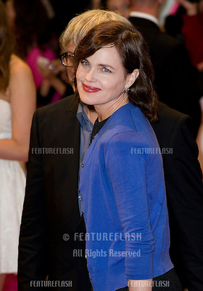 Elizabeth McGovern arriving for the UK premiere of One Day at the Vue Cinema in, Westfield, London. 23/08/2011  Picture by: Simon Burchell / Featureflash
