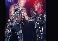Judas Priest; Live; 1990<br /> Photo Credit: Eddie Malluk/Atlas Icons.com