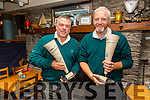Cahersiveen Golfers win the Irish Open Matchplay held in Carton House on Sunday pictured here l-r; Andrew Cooke & Vernon Devane.