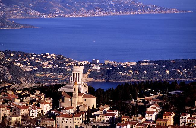 France, Alpes-Maritimes. La Turbie *** La Turbie. Alpes-Maritimes, France.