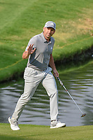 Sergio Garcia (ESP) waves to the roaring crowd as he approaches the green on 17 during round 4 of the World Golf Championships, Mexico, Club De Golf Chapultepec, Mexico City, Mexico. 2/24/2019.<br /> Picture: Golffile | Ken Murray<br /> <br /> <br /> All photo usage must carry mandatory copyright credit (© Golffile | Ken Murray)