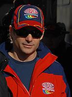 Mar 30, 2007; Martinsville, VA, USA; Nascar Nextel Cup Series driver Jeff Gordon (24) during practice for the Goody's Cool Orange 500 at Martinsville Speedway. Martinsville marks the second race for the new car of tomorrow. Mandatory Credit: Mark J. Rebilas