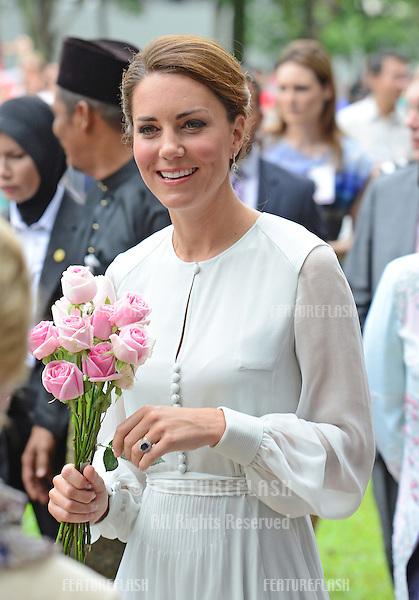 Catherine, Duchess of Cambridge  visits Kuala Lumpur Centre Park, Kuala Lumpur, Malaysia.  September 14, 2012..Picture: Catchlight Media / Featureflash