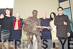 FAMILY: Members of the Ross family Tralee who were at the veiling of the statue of the late Christy Hennessy on Saturday in the Square. l-r: Breda, Mark, Melissa and Jimmy Ross.