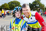 Attending the Ardfert Kids Cycle at the School on Sunday morning.<br /> Lauren and Paudie O&rsquo;Sullivan.