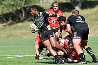 Hurricanes Hinters v Wolfpack at Jerry Collins Stadium, Porirua, New Zealand on Friday 29 March 2019. <br /> Photo by Masanori Udagawa. <br /> www.photowellington.photoshelter.com