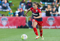 Boyds, MD - Saturday May 07, 2016:Washington Spirit midfielder Estefania Banini (10) during a regular season National Women's Soccer League (NWSL) match at Maureen Hendricks Field, Maryland SoccerPlex. Washington Spirit tied the Portland Thorns 0-0.