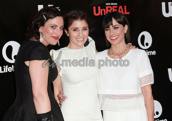 """20, May 2015 - Beverly Hills, California - Shiri Appleby, Sarah Gertrude Shapiro. Lifetime and US Weekly Premiere Party for New Drama """"UnREAL"""" held at SIXTY Beverly Hills. Photo Credit: Theresa Bouche/AdMedia"""