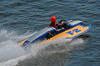 """Beth Gilday, T-2 """"Lil Miss Hillwinds"""" (1977 Sooy cabover 1200cc class Hydroplane)"""