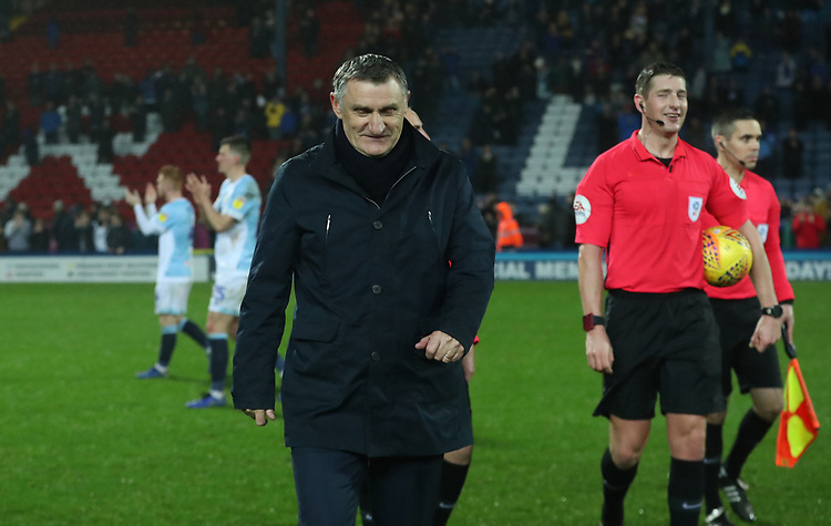 Blackburn Rovers manager Tony Mowbray at the end of todays match<br /> <br /> Photographer Rachel Holborn/CameraSport<br /> <br /> The EFL Sky Bet Championship - Blackburn Rovers v Sheffield Wednesday - Saturday 1st December 2018 - Ewood Park - Blackburn<br /> <br /> World Copyright &copy; 2018 CameraSport. All rights reserved. 43 Linden Ave. Countesthorpe. Leicester. England. LE8 5PG - Tel: +44 (0) 116 277 4147 - admin@camerasport.com - www.camerasport.com