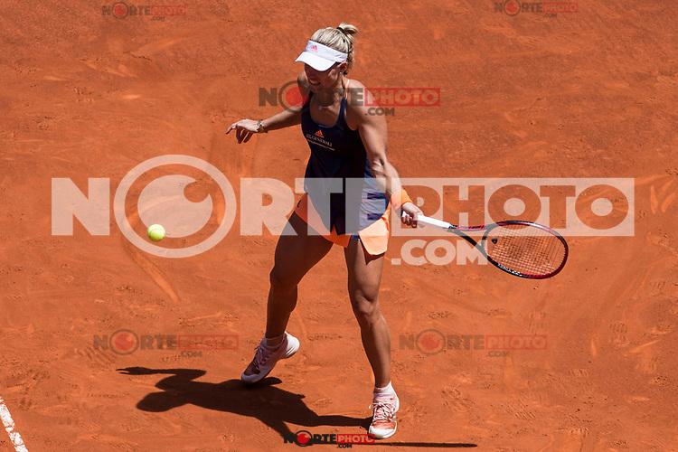 Angelique Kerber during  Mutua Madrid Open Tennis 2017 at Caja Magica in Madrid, May 08, 2017. Spain. /NortePhoto.com