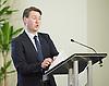 UKIP<br /> final UKIP Leadership hustings debate , Westminster, London, Great Britain <br /> 25th August 2016 <br /> <br /> Phillip Broughton<br /> <br /> <br /> <br /> <br /> <br /> <br /> <br /> Photograph by Elliott Franks <br /> Image licensed to Elliott Franks Photography Services
