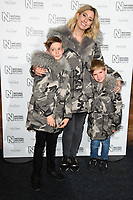 Stacey Solomon<br /> arriving for the Natural History Museum Ice Rink launch party 2017, London<br /> <br /> <br /> ©Ash Knotek  D3340  25/10/2017