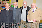 Pictured at the Lissivigeen National School, Killarney 150th anniversary celebrations in the school on Thursday night were Jackie O'Sullivan, Eugie Scannell, Eugie O'Keeffe and Arthur O'Keeffe. ......................