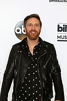 LAS VEGAS - MAY 21:  David Guetta at the 2017 Billboard Awards Press Room at the T-Mobile Arena on May 21, 2017 in Las Vegas, NV