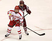 Chase Phelps (BU - 12), Shane Bear (UMass - 24) - The Boston University Terriers defeated the University of Massachusetts Minutemen 3-1 on Friday, February 3, 2017, at Agganis Arena in Boston, Massachusetts.The Boston University Terriers defeated the visiting University of Massachusetts Amherst Minutemen 3-1 on Friday, February 3, 2017, at Agganis Arena in Boston, MA.