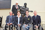 CALLING ALL SONGWRITERS: Entries from songwriters are being sought for the  2012 Christie Hennessy Song Competition which takes place in Tralee on Saturday 17th November. Pictured were: Mayor of Tralee Johnny Wall, John Griffin (Kerry Tourism Officer), Karen Walsh (Brandon Hotel), Brian Hurley (Radio Kerry) and Kieran Ruttledge (Tralee Chamber Alliance)
