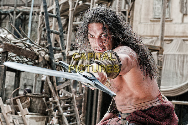 Jason Momoa .in Conan the Barbarian.*Filmstill - Editorial Use Only*.CAP/FB.Supplied by Capital Pictures.