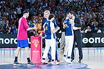 World Cup of Basketball during Real Madrid vs FC Barcelona final of Supercopa Endesa. September 22, 2019. (ALTERPHOTOS/Francis González)