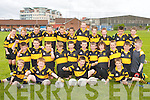 STACKS: The Stacks Under-11 football team who played in the Elevens Football Blitz at John Mitchels GAA Pitch, Tralee, on Saturday..Front row l-r: Fergal Ryan, Conor O Nuallain, Shane O'Neill and Oisin Fitzgerald. Centre row l-r: Richard Hurley, Anthony Moynihan,.Michael O'Donnell, Sean Ryan, Cathal O'Reilly, Darren Bastible, Rory Hill, Sean Dukes, Daniel Teahan, Craig Corcoran, Tim McMahon..Back row l-r: Timothy Murphy, Jonathan O'Reilly, Kieran Magee, Cillian O'Brien, Brian Hill, Claudio Dema, Cillian Comerford, Dylan.Harnett, Darragh Scanlon, Colin Griffin and Dylan Hennebery.