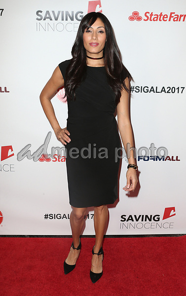 30 September 2017 - Los Angeles, California - Tehmina Sunny. 6th Annual Saving Innocence Gala held at Loews Hollywood Hotel. Photo Credit: F. Sadou/AdMedia