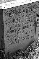 Bellbrook Pioneer Cemetery Berry Hill: Revolutionary War Vet