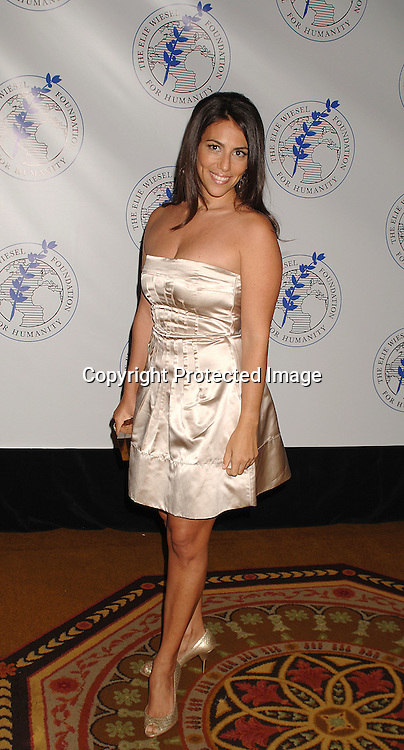 Rory Tahari ..posing for photos at The Elie Wiesel Foundation for Humanity Award Dinner honoring Oprah Winfrey on ..May 20, 2007 at The Waldorf Astoria Hotel. ..Robin Platzer, Twin Images........212-935-0770