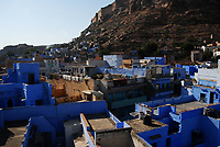 Even looking over the rooftops of the old city, Jodhpur is blue and striking.