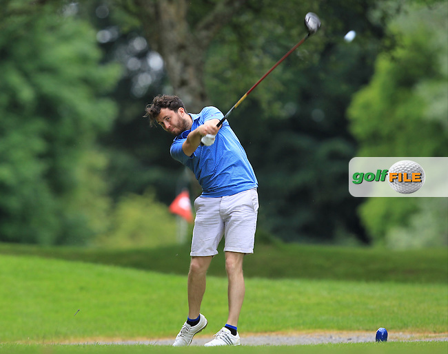 Gerard Dunne (Co. Louth) on the 3rd tee during Round 4 of the 2016 Connacht Strokeplay Championship at Athlone Golf Club on Sunday 12th June 2016.<br /> Picture:  Golffile | Thos Caffrey