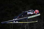 12th January 2018, Val di Fiemme, Fiemme Valley, Italy; FIS Nordic Combined World Cup, Mens Gundersen; Fabian Riessle (GER)