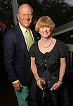 Dossett McCullough and Nancy Allen at the Memorial Park Conservancy Gala at The Bayou Club Thursday Oct. 15,2009. (Dave Rossman/For the Chronicle)
